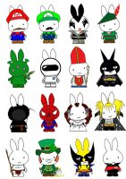 Generation Miffy the Fifth by likimonster