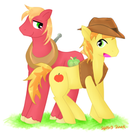 Apple Cousins by divided-s