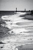 Black And White Sea Washes by Samuel-Benjamin