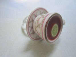 Bergamont tea ring by CandyChick