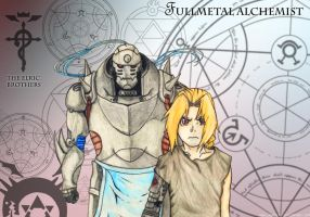 FMA - The Elric Brothers by lenneste