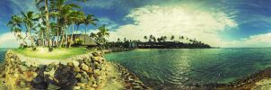 Fiji Panorama by DividedFortune