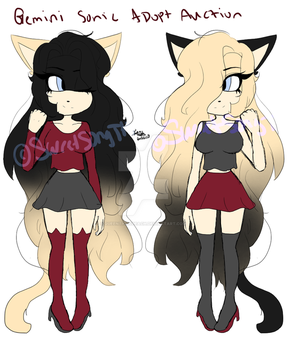 AUCTION Gemini Sonic Adopts OPEN by SweetSongTheHedgehog
