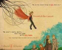 Decent of the Conceit by Kitsoa