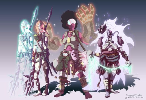 Bad blood Crystal Gems by SOLODefcon