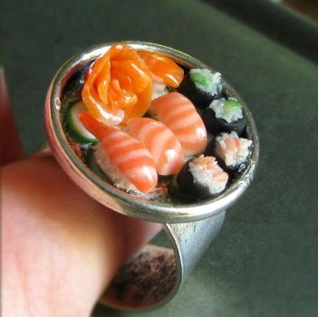 Sushi Ring by fairchildart