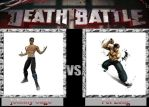 Johnny cage vs Fei Long by DarkFire1000
