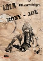Postapocalyptic Pin-Up: Roxy J by Meister-Goldfeder