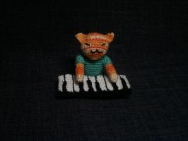 Keyboard Cat Amigurumi by nevR-sleep