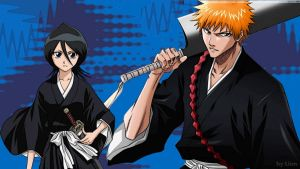IchiRuki Wallpaper by cica99