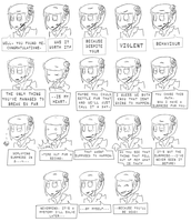 GLaDOS Expressions by Super-Cute