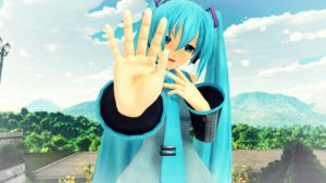 [MMD] High Five! by Snorlaxin