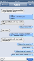 Text Messages Between Grell and Sebastian 2 by littleshadow3