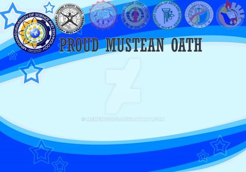 MUSTean Oath by Memeng2009