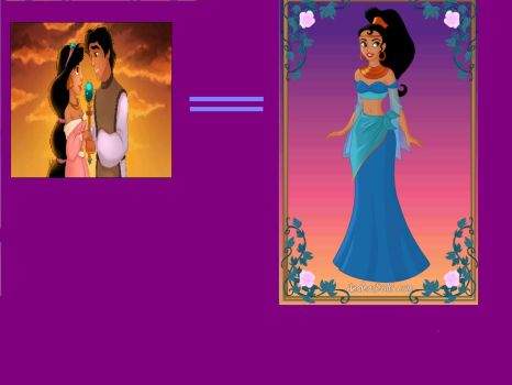 Aladdin and Jasmines daughter by swaggoutloud123