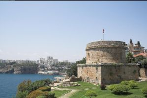 Round tower in Antalya by enframed