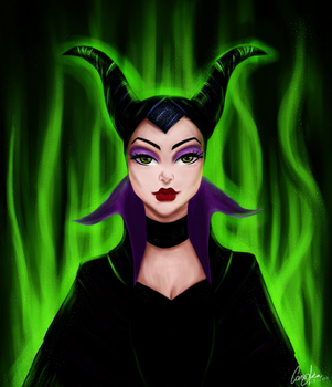 Maleficent (Villain Series) by CansuAkn