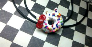 Hello kitty doughnut by kitty25kit