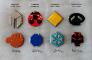 Johto Gym Badges by AidaSechem