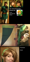 Link - Oracle of seasons/Ages progress by Grethe--B