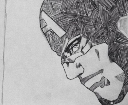 Captain America close up pt.1 by rondostal91
