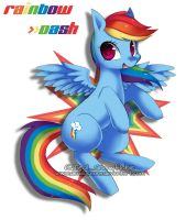 Rainbow Dash by DeadOceans