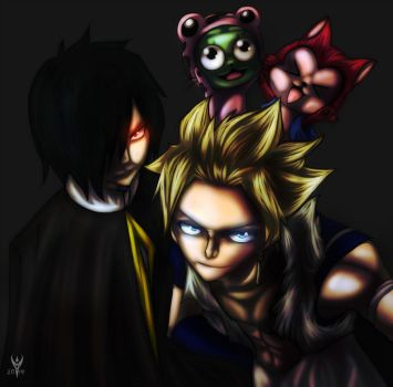Sabertooth  Twin Dragon Slayers by Arenthor