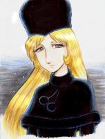 Maetel from Galaxy Express 999 by Annausagi