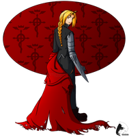 Edward Elric - Battle Ready by windrider01