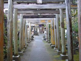 shrine near my house by saTen0w0