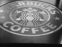 Starbucks Coffe Sign by JShady