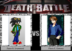 Death Battle Flavio Estevez vs Jason R. Drummond by Gatlinggundemon9
