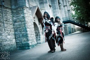 Assassins Creed 2 - Ezio Duo2 by LiquidCocaine-Photos