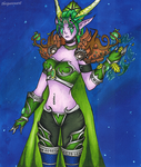 World of Warctaft - Ysera by GR-the-queen