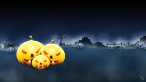 Pumpkin Graphic and Wallpaper -FREE- by Xiox231