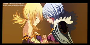 Fairy Tail 328. Lucy and Yukino.. by eikens