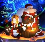 Merry Christmas 2014 by Baitong9194
