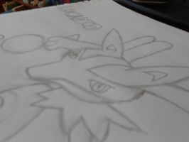 Lucario by snoopysoap