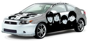 Skinned Car Themed the beatles by BlackTequila