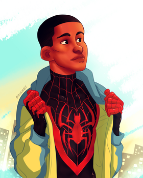 Ultimate Spider-Man by Grimmby