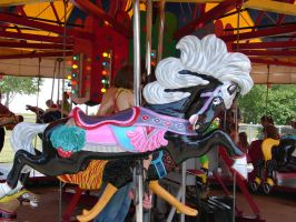 Carousel Horse 2 by FantasyStock