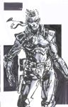 Solid Snake Brush Pen 2 by ManBean