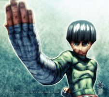 Rock Lee by Mundokk