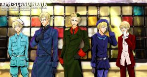 APH Scandinavia family by ladykylie