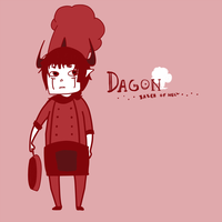 Dagon - Baker of Hell by jhaku