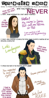 THOR - Fanservice meme with Loki by Pelissa