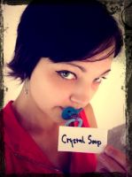 Fansign - crystal soup by Esarina