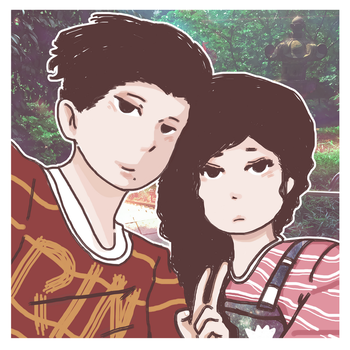 me and kate by Extrovert-Doodler