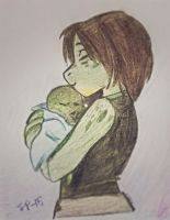 Mother and son by Suzukiwee1357