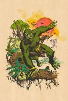 MOSS MAN by ChrisFaccone